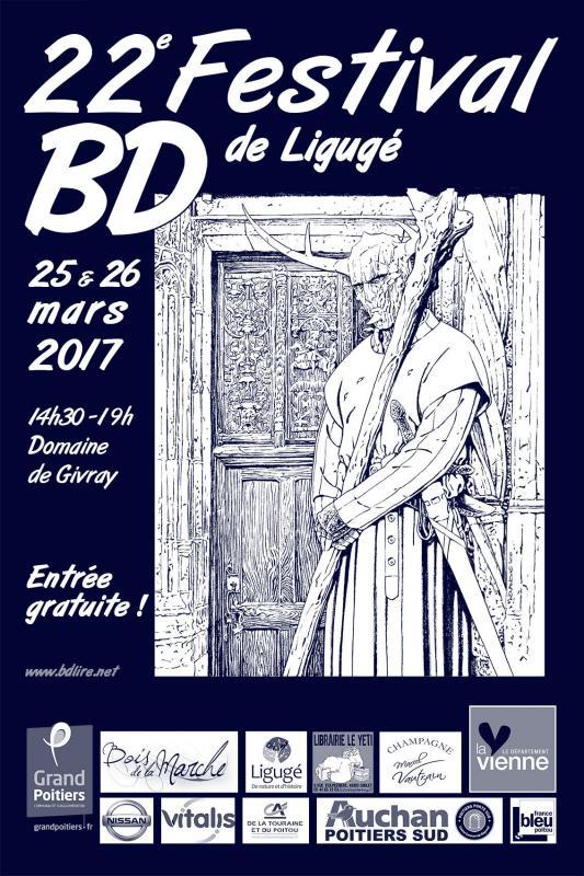 BD Empher au festival bd de Ligugé 2017