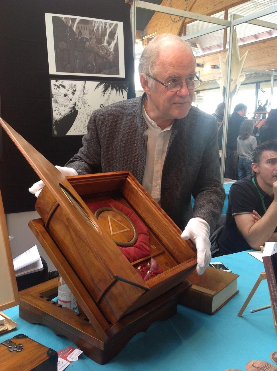 Didier Convard et le Testament du Fou